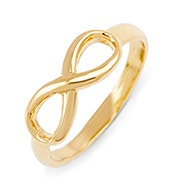 Petite Gold Infinity Ring