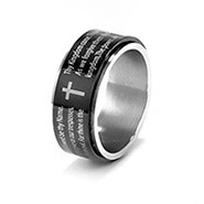 Lord's Prayer Spinner Ring