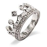CZ Crown Jewels Ring