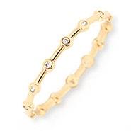 gorjana Mae Shimmer Ring in Gold