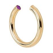 Stella Valle February Gold Birthstone Ring